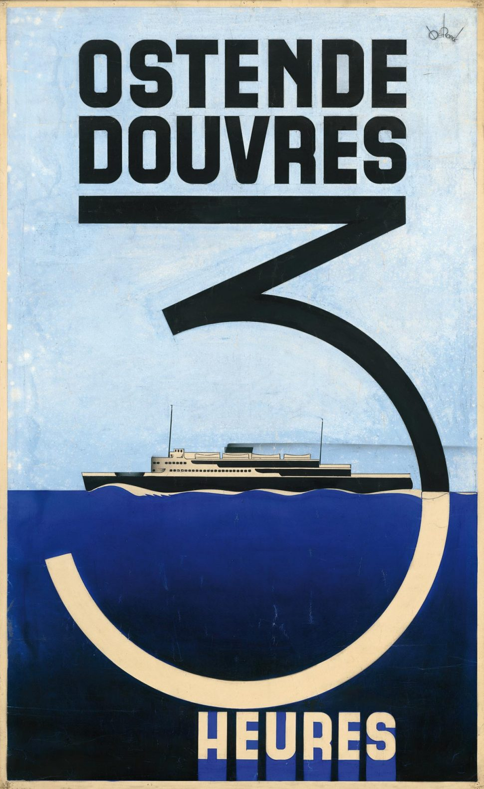 Affiche Oostende Dover Project Groot
