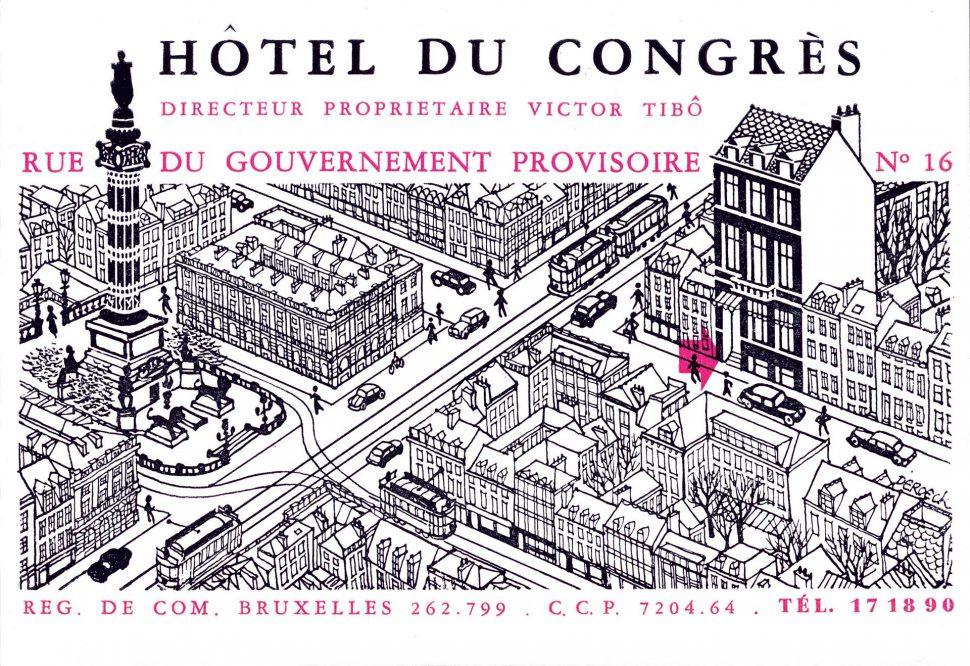 Plan Hotel Du Congres