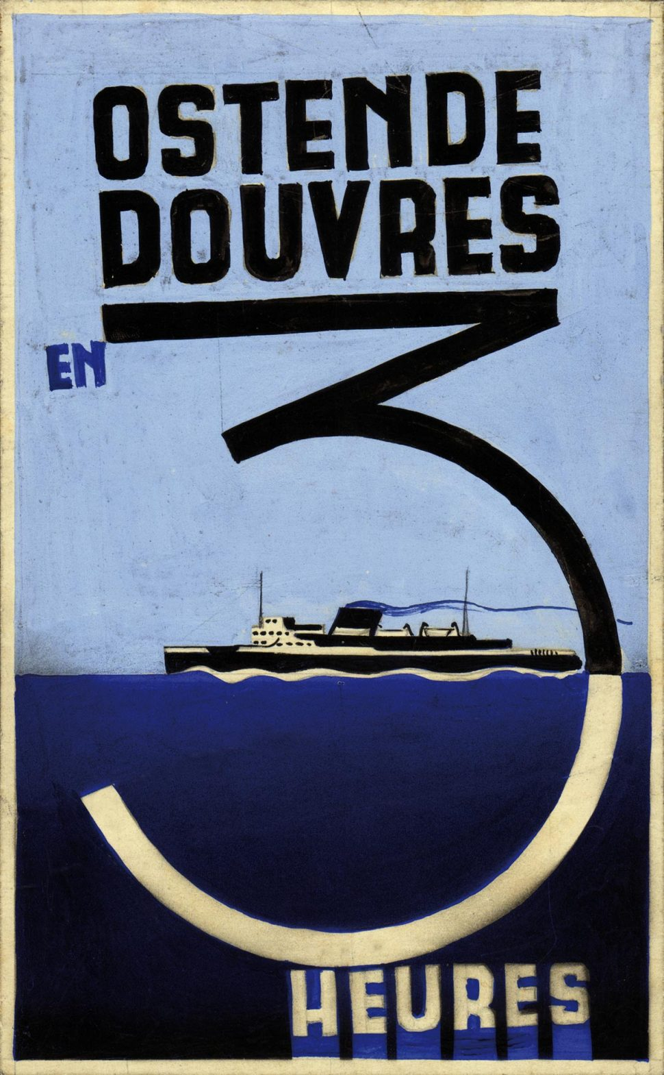 Affiche Oostende Dover Project Klein