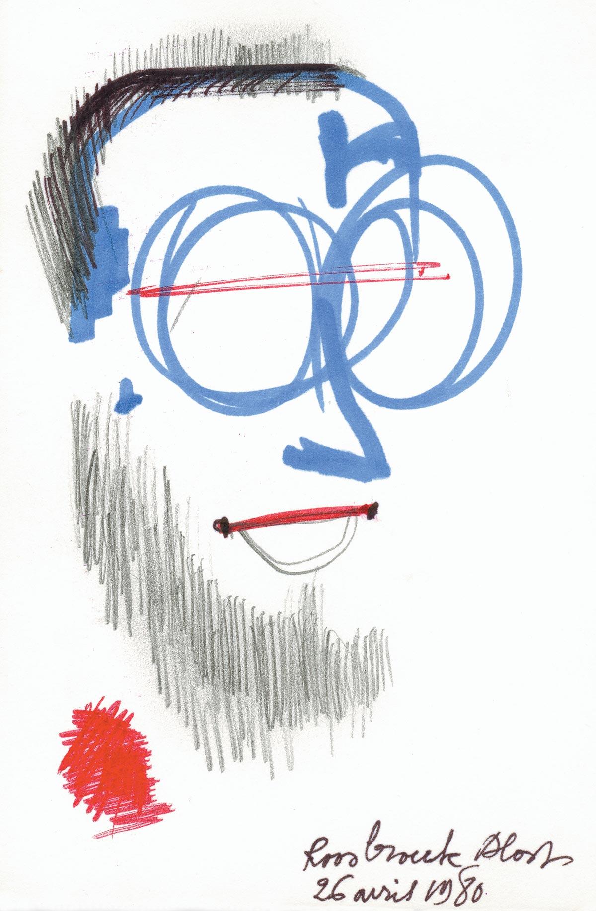 Portret Michaël Roosbroeck 26-4-1980