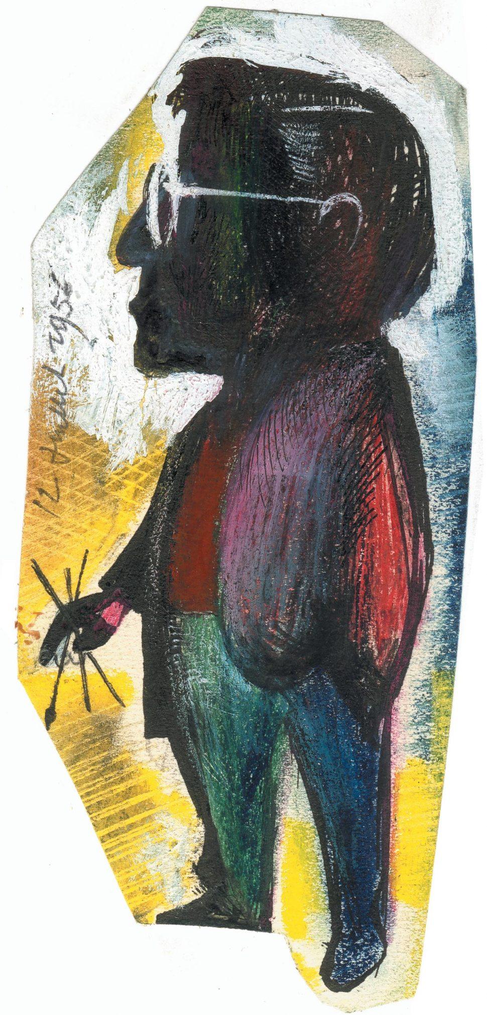 Zelfportret L. De Roeck 12-6-56