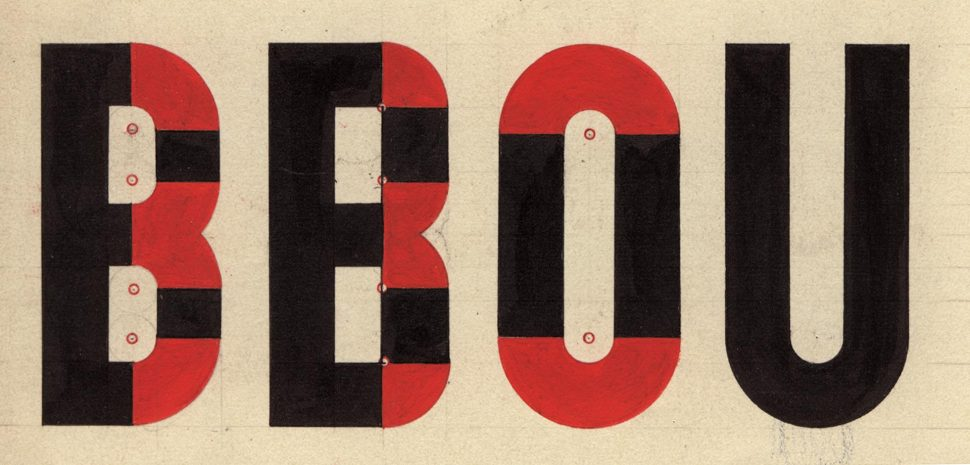 Typografie BBOU