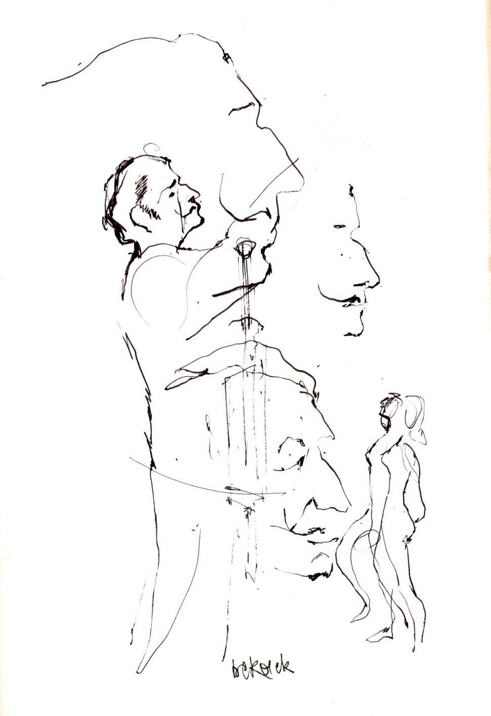 Portret Salvador Dali 11-1967