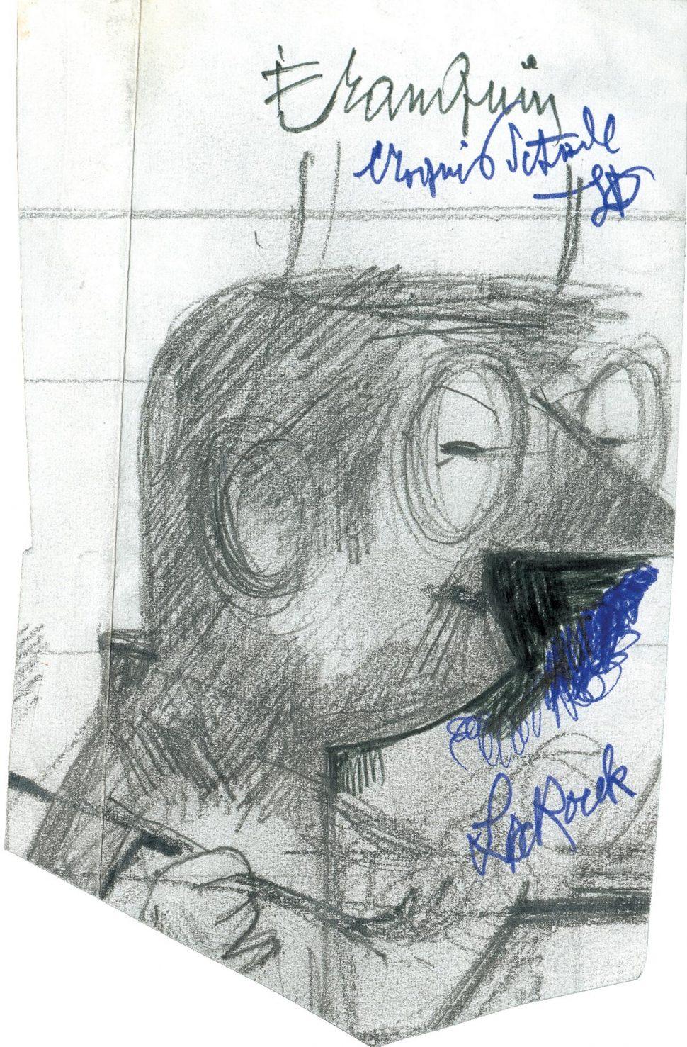 Portret André Franquin