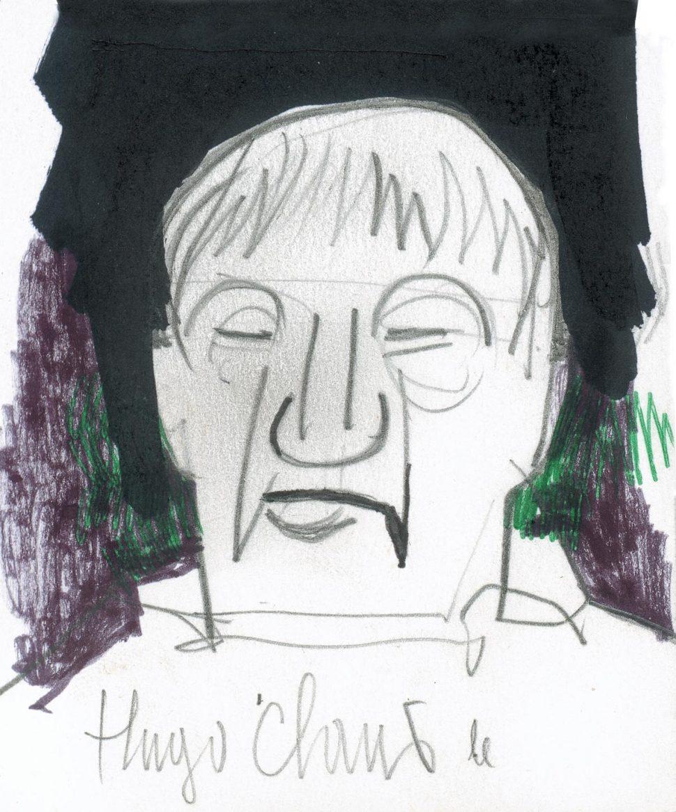 Portret Hugo Claus