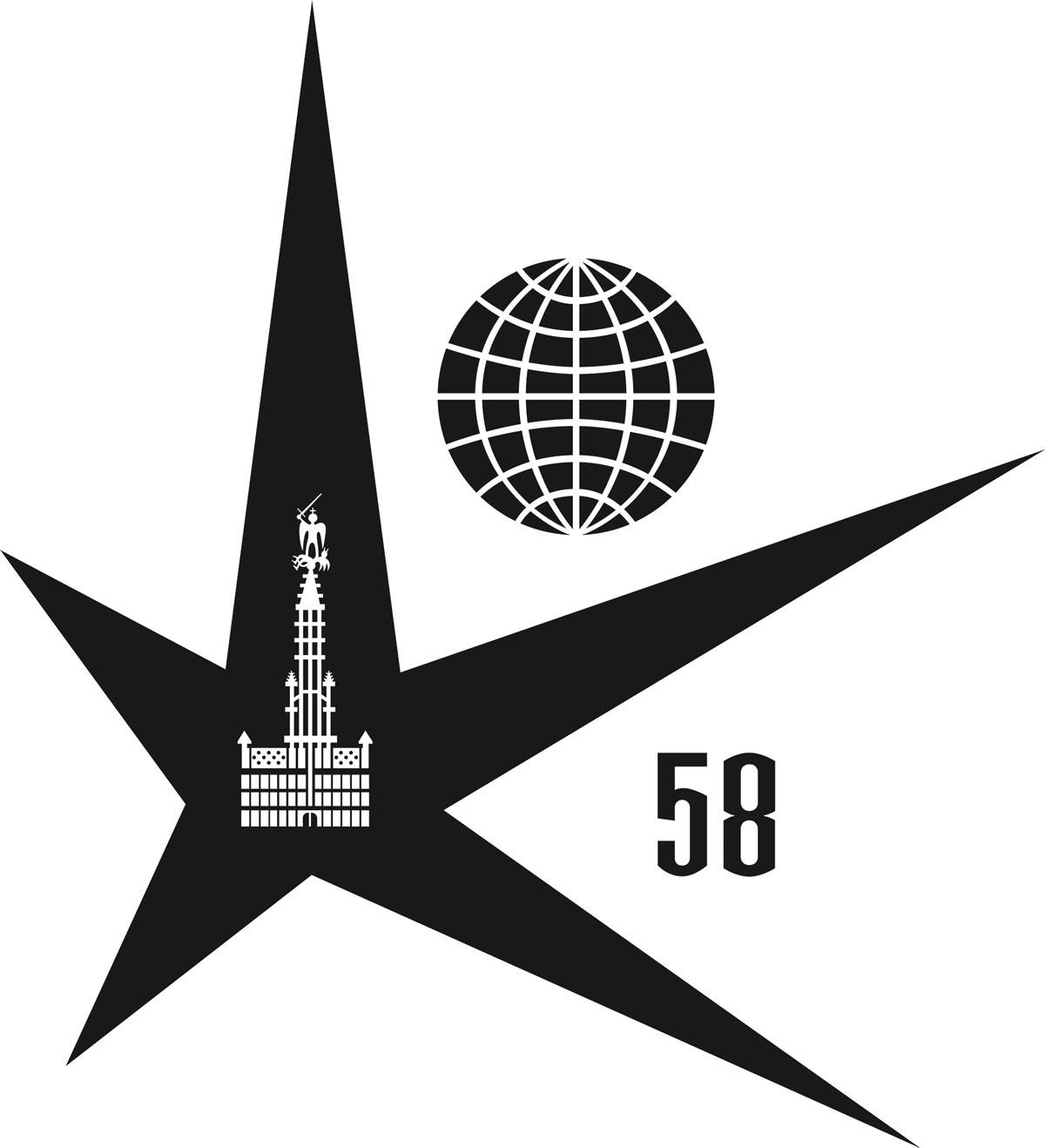 Officiële Logo Expo 58