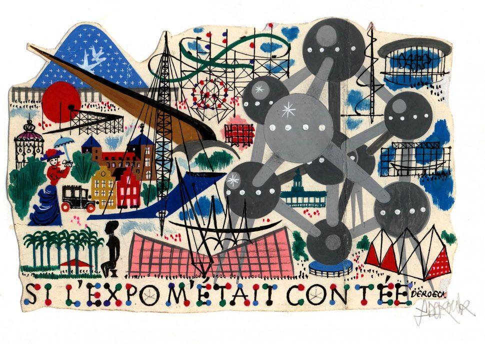 Als de Expo mij werd verteld 1958