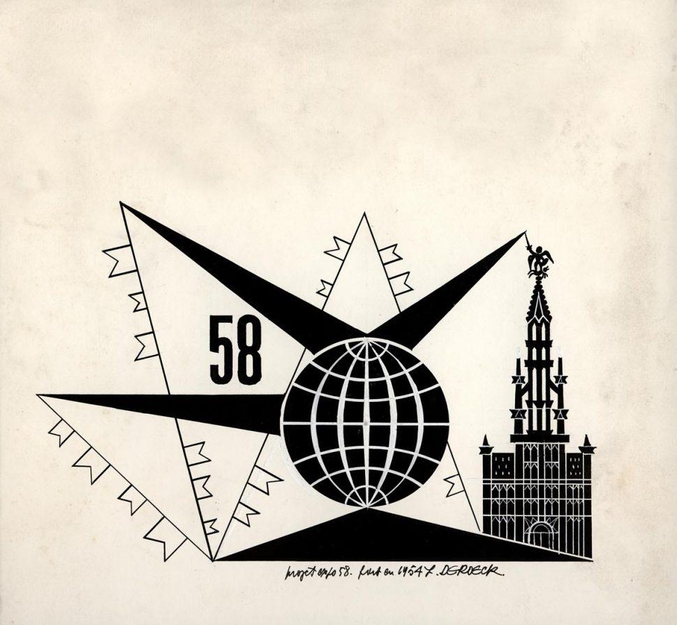 Voorstudie 5 Logo Expo 58