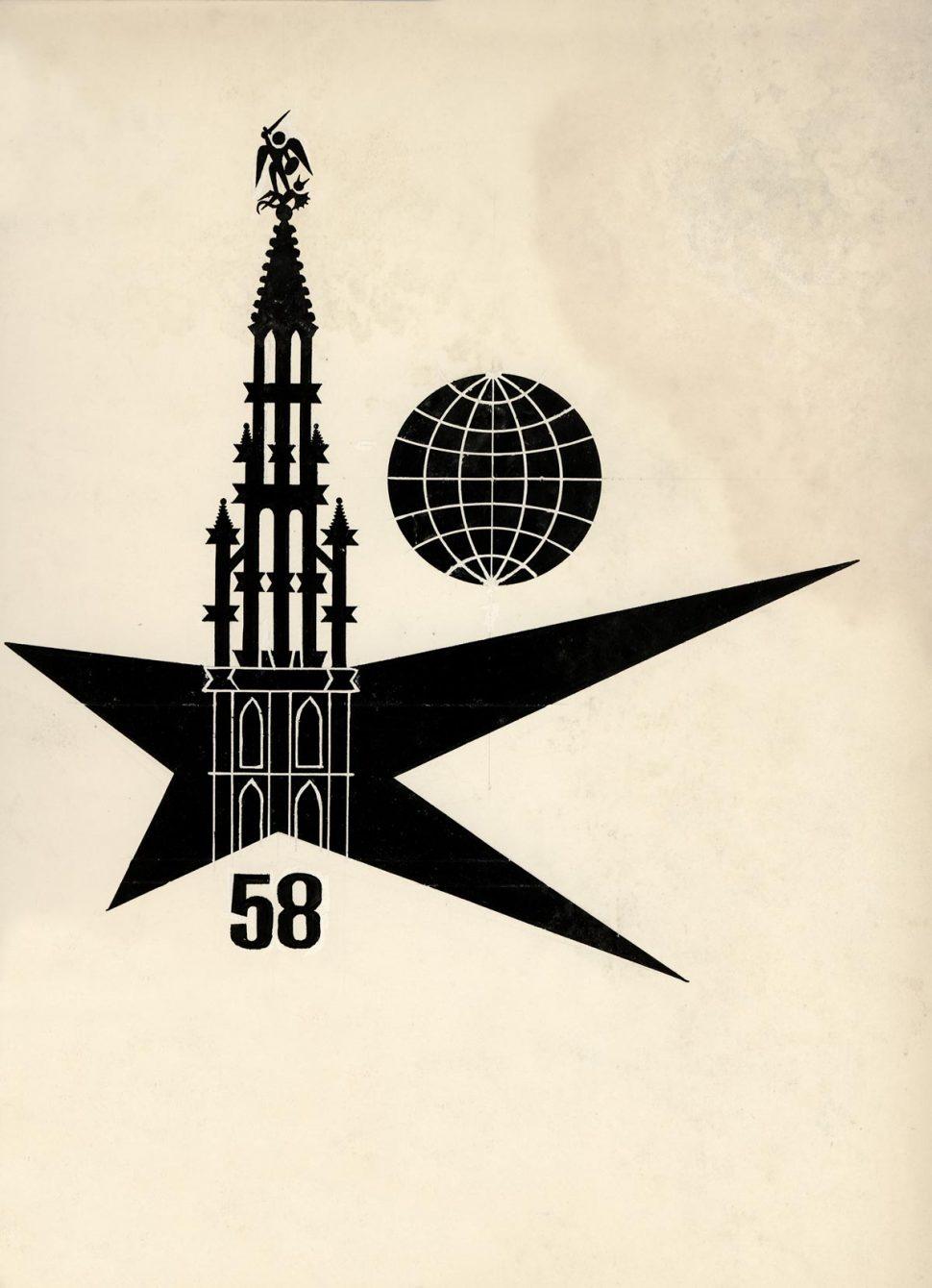 Voorstudie 3 Logo Expo 58