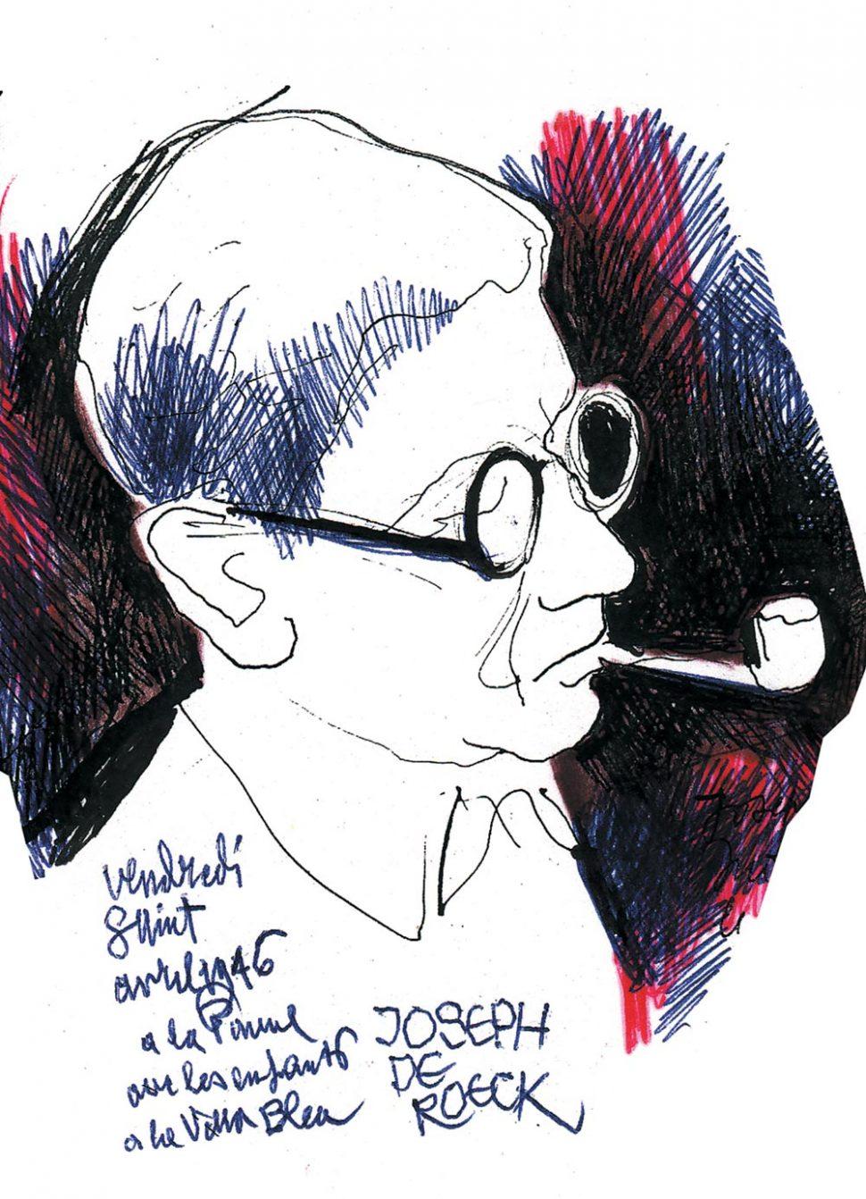 Portret Joseph De Roeck 1946