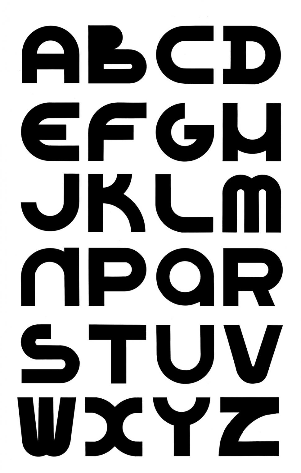 Typografie Lettertype 1934