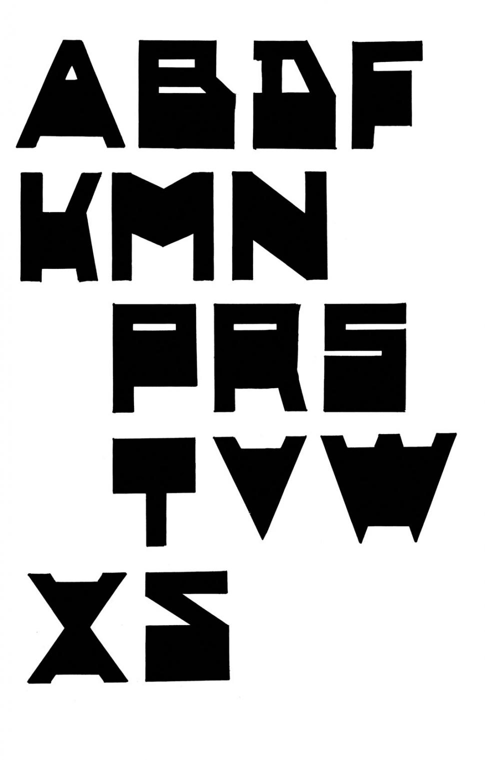 Typografie Lettertype 1933