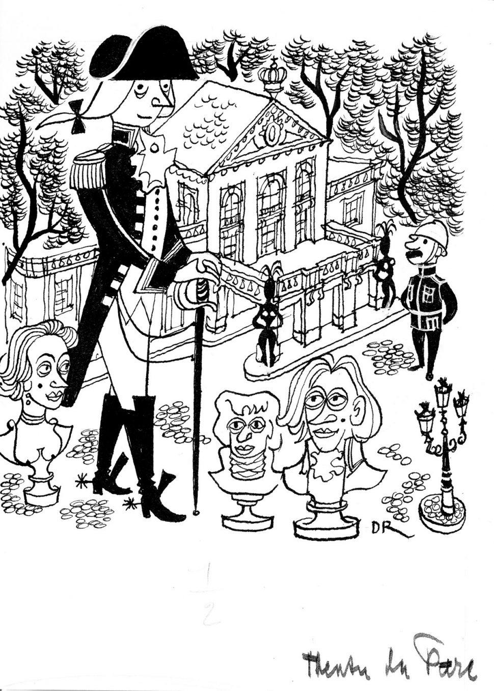 Illustratie Theatre du Parc