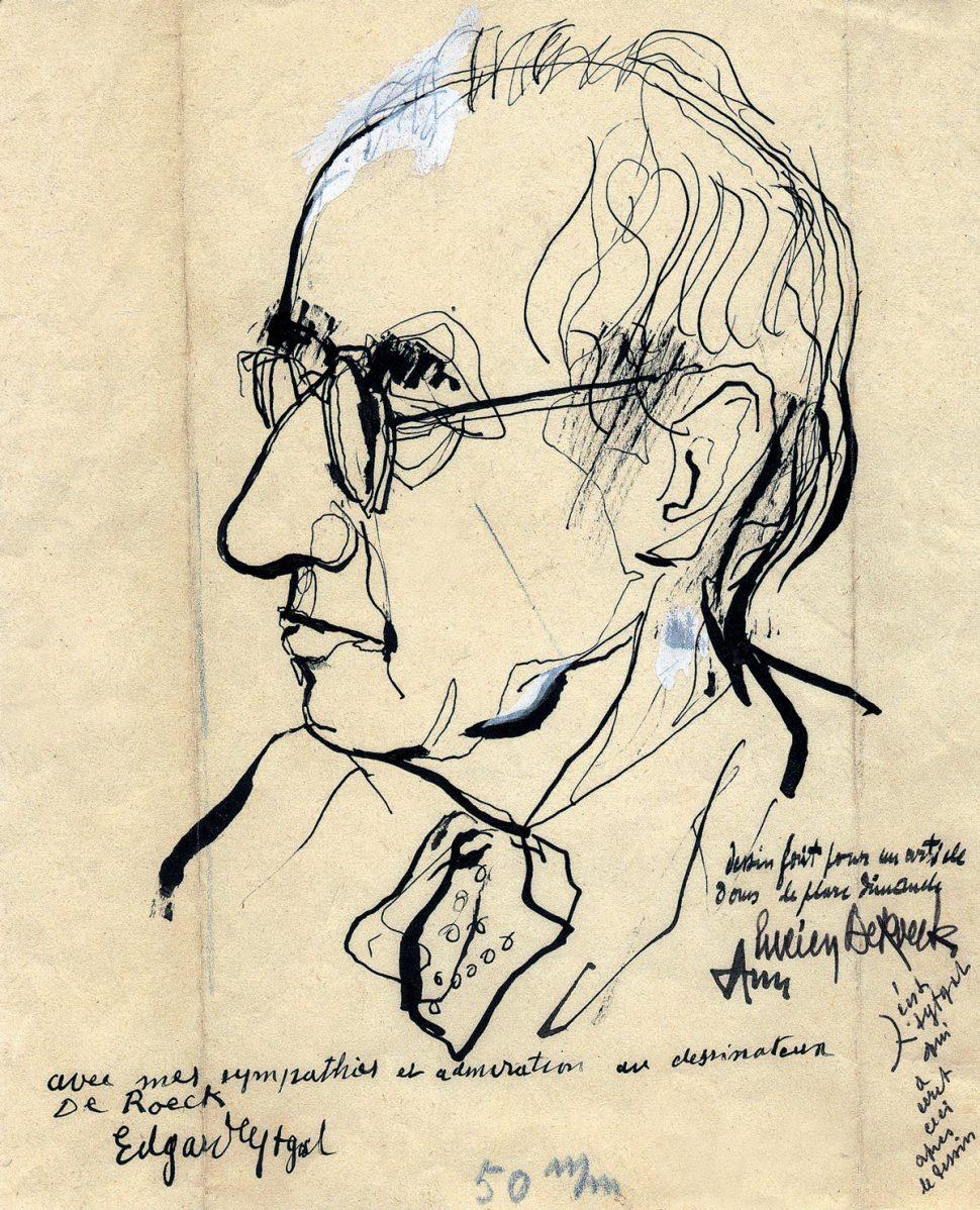 Portret Edgard Tytgat
