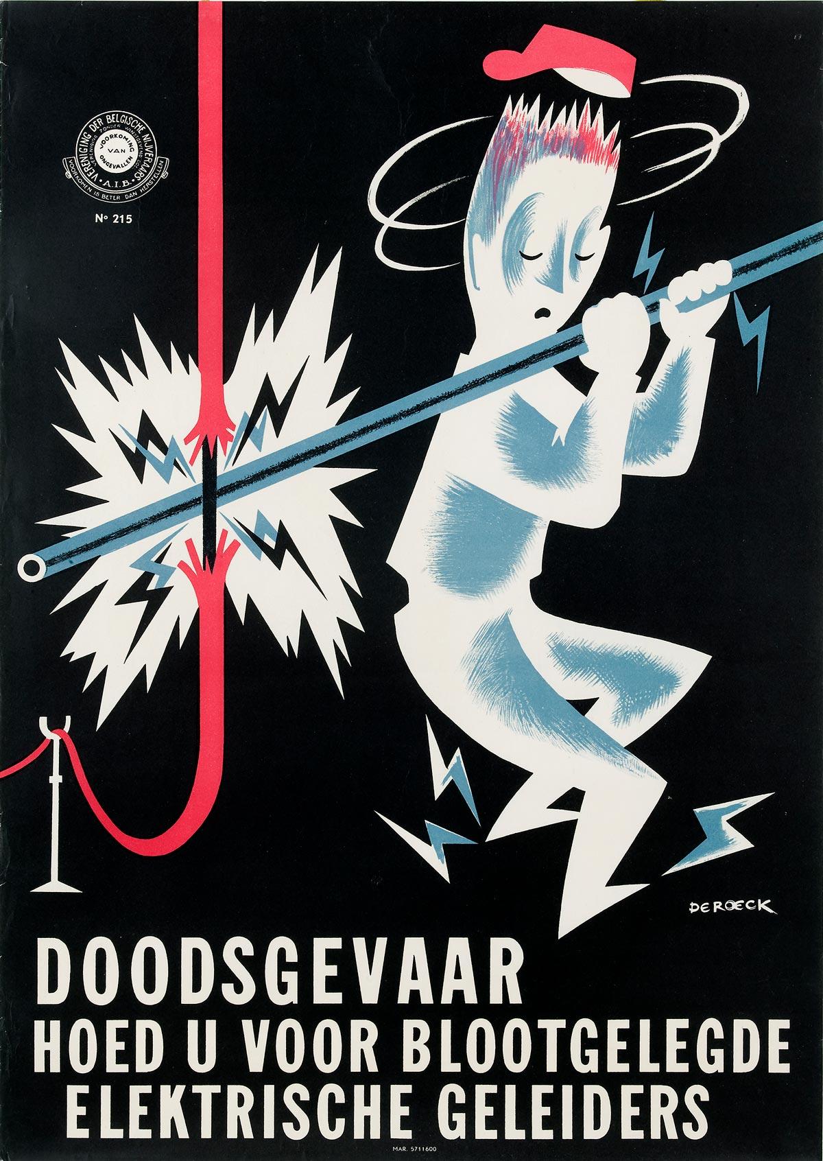 Affiche Vereniging Belgische Nijveraars