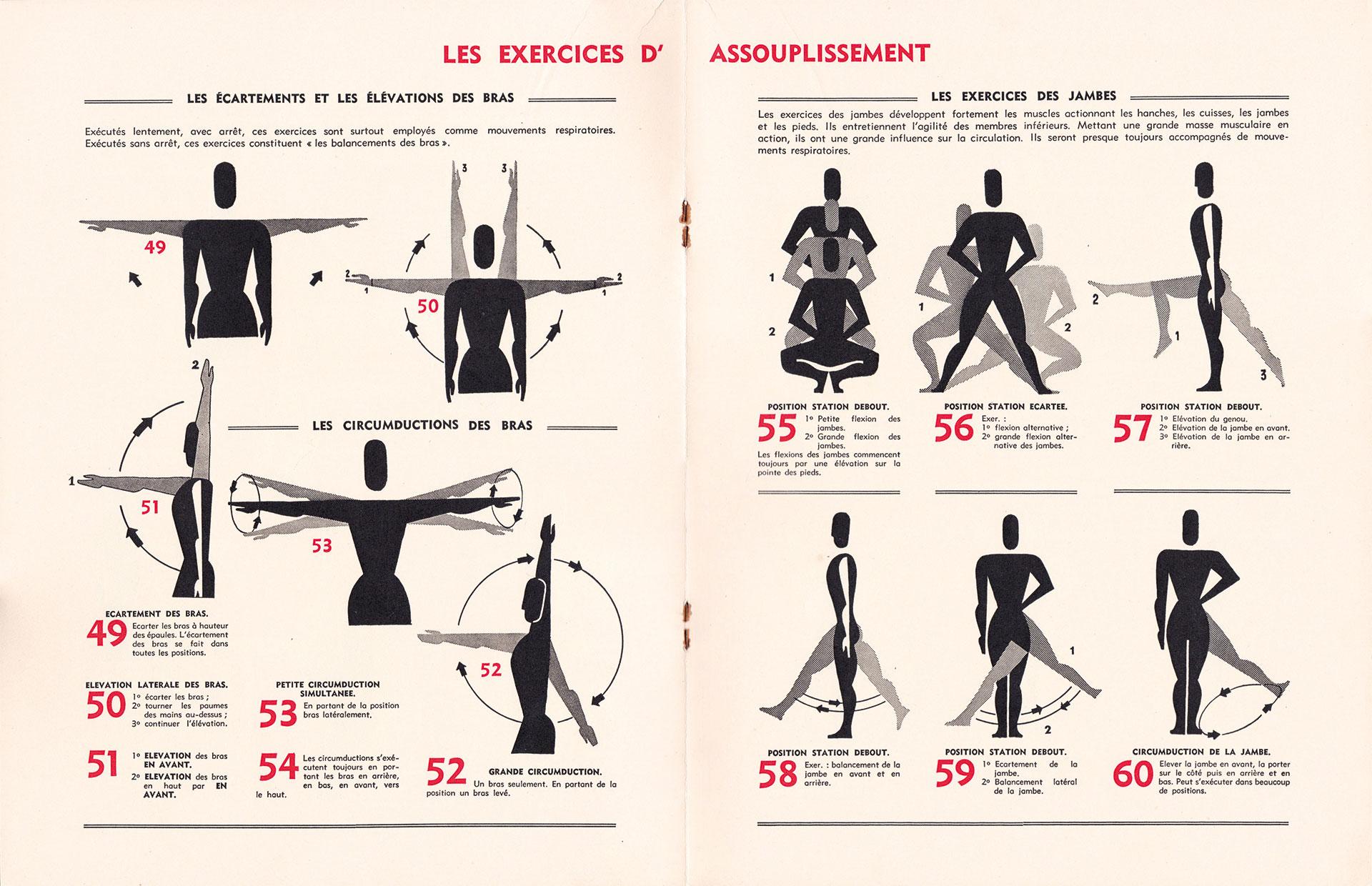 Les Exercices - I.N.R. - Lucien De Roeck